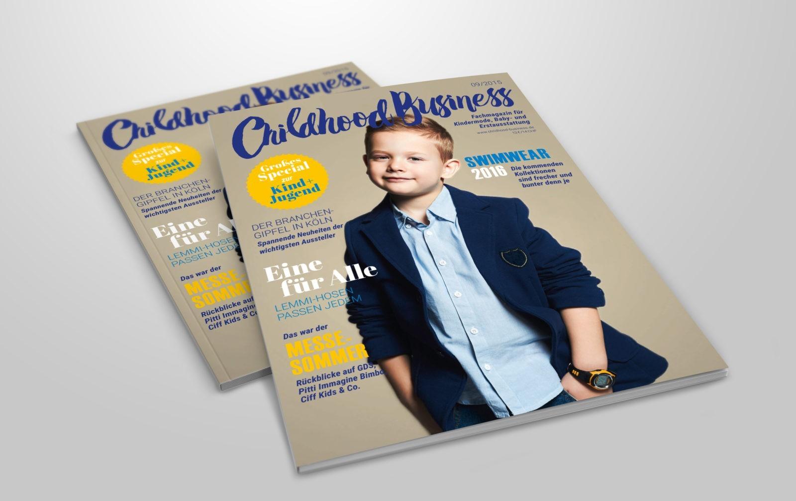 Cover der Ausgabe 09 2015 von Childhood Business