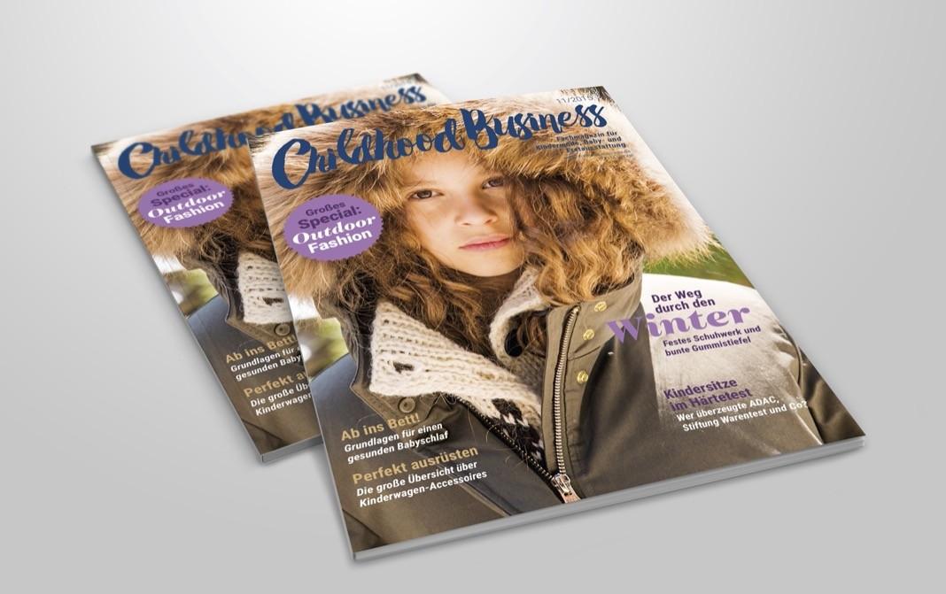 Cover der Ausgabe 11 2015 von Childhood Business
