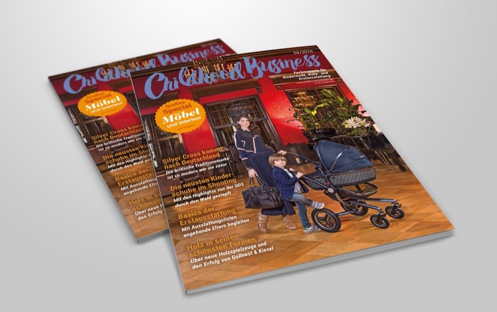 Cover der Ausgabe 04 2016 von Childhood Business