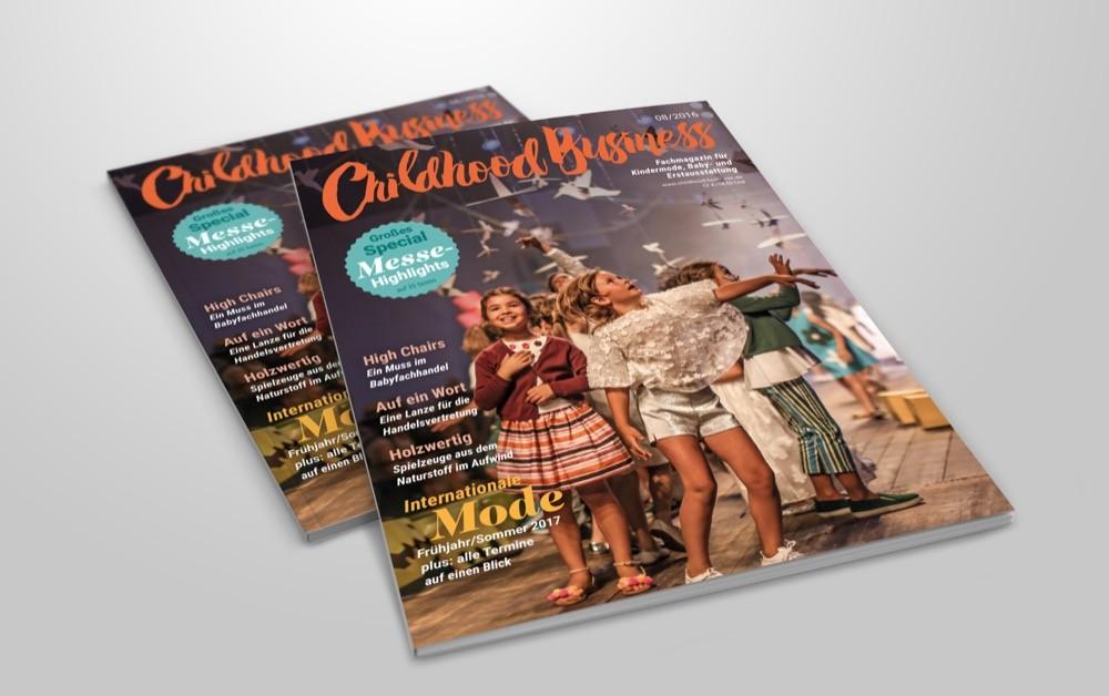 Cover der Ausgabe 08 2016 von Childhood Business