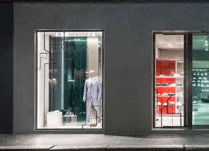 Boutique von Manuel Ritz in Mailand