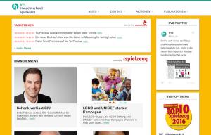 Homepage des BVS