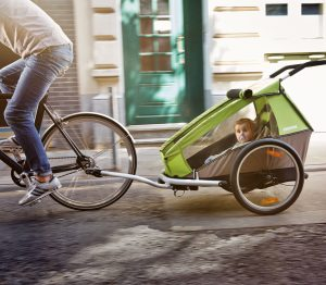 Croozer KId Bike in Aktion