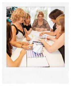 Meeting im Design-Atelier