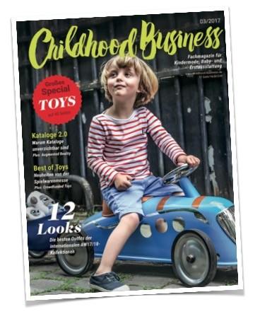 Cover der Ausgabe 03/2017 von Childhood Business
