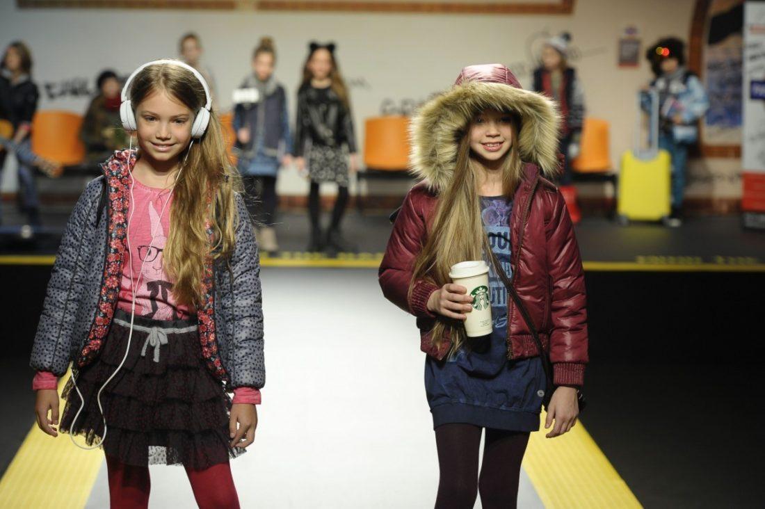 Boboli auf der Fashion-Show