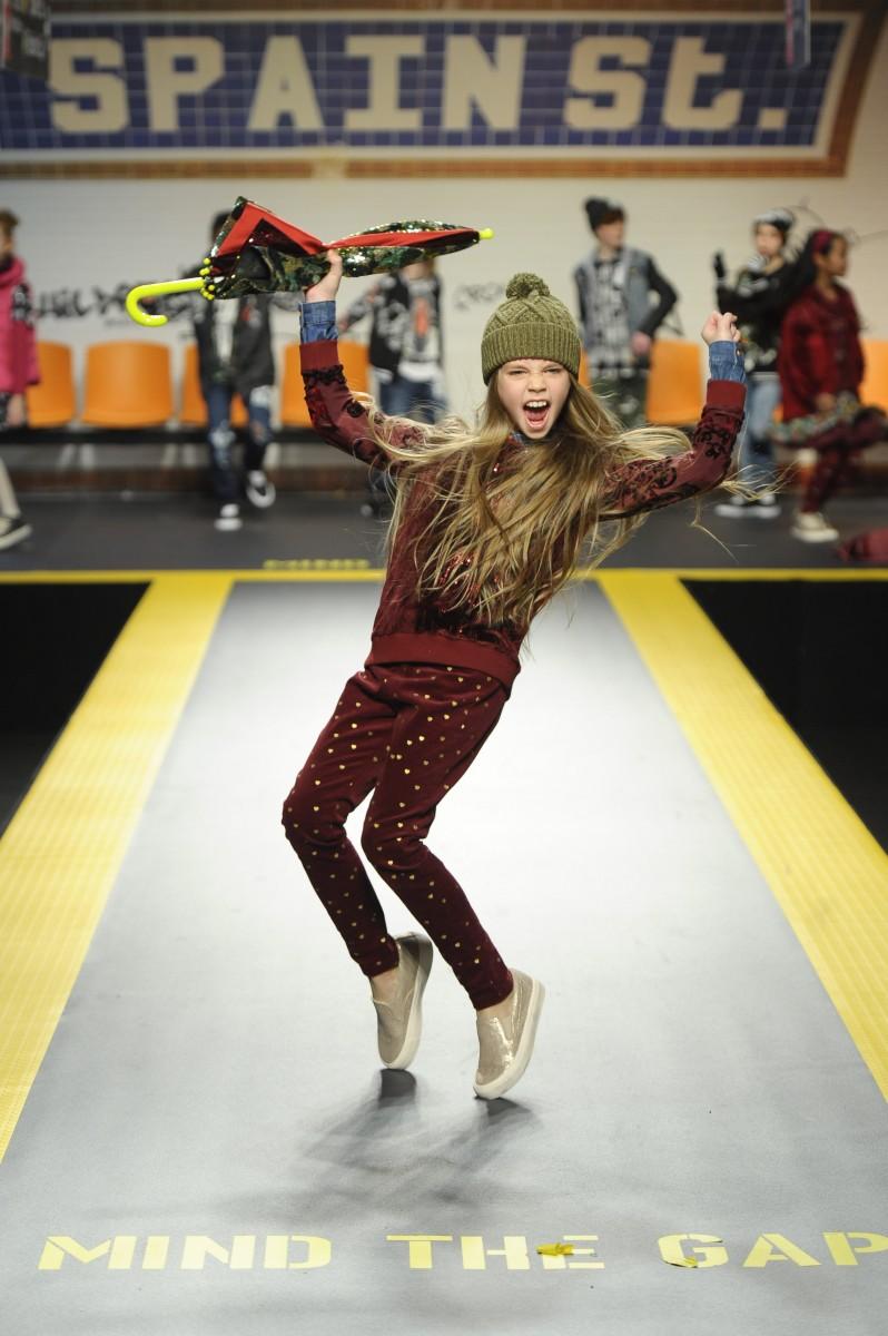 Desigual auf der Fashion-Show