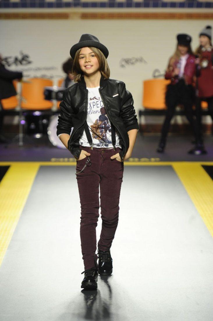 Mayoral auf der Fashion-Show