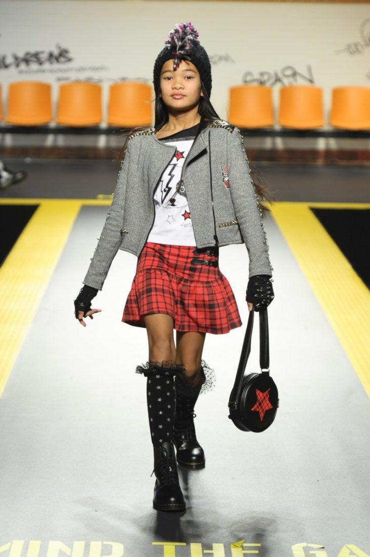 Tuc Tuc auf der Fashion-Show