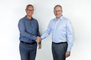 Philipp Kronen, Managing Partner Igedo Company, gemeinsam mit Thomas Stenzel, CEO Messe Düsseldorf Moscow