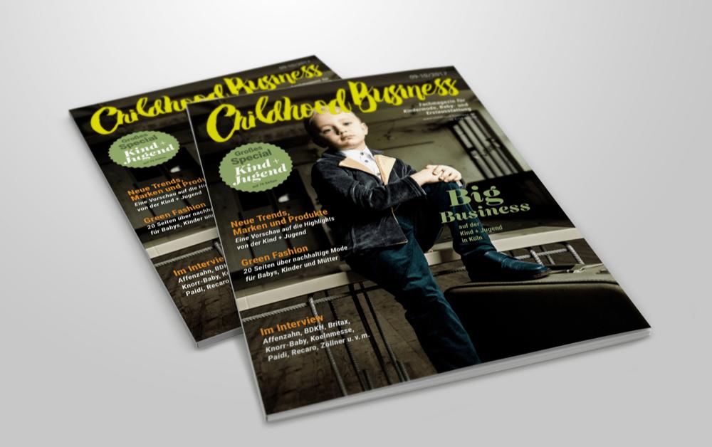 Cover der Childhood Business, Ausgabe 2017 09-10