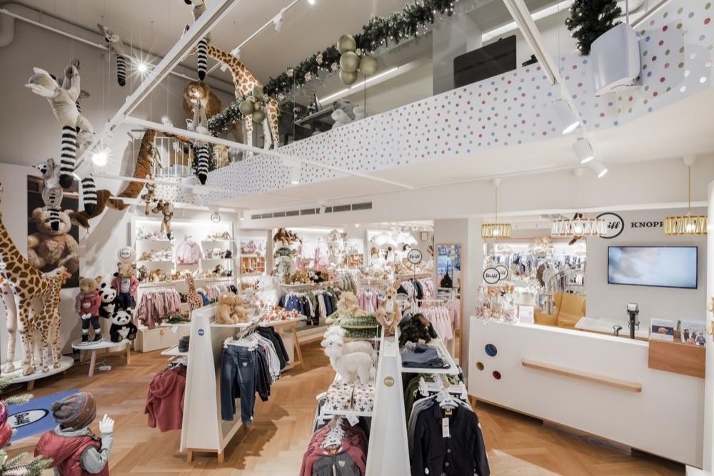 neuer steiff flagship store in der m nchener briennerstra e childhood business. Black Bedroom Furniture Sets. Home Design Ideas