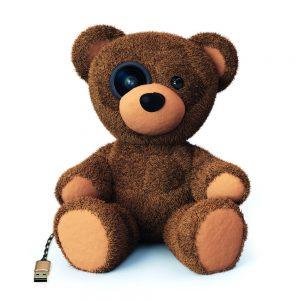 Immer mehr smarte Toys im Kinderzimmer sind mit dem Internet vernetzt. Big Brother sitzt da leicht auch im Kinderbett.
