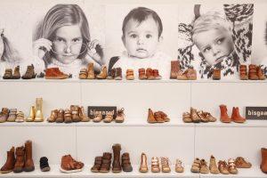 Gallery Shoes im März 2018 mit dem Sonderbereich Kids Zone