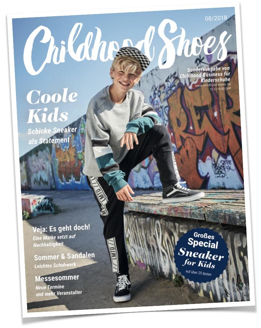 1 von2 Covern der Ausgabe 08/2018 (Childhood Shoes) - Version B