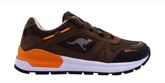 "Rooskickx-Modell ""Rooki 3"" in Olive, Orange"