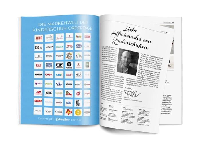 Mit einem Editorial von Thomas Wetzlar als Veranstalter der Kinderschuh Ordertage