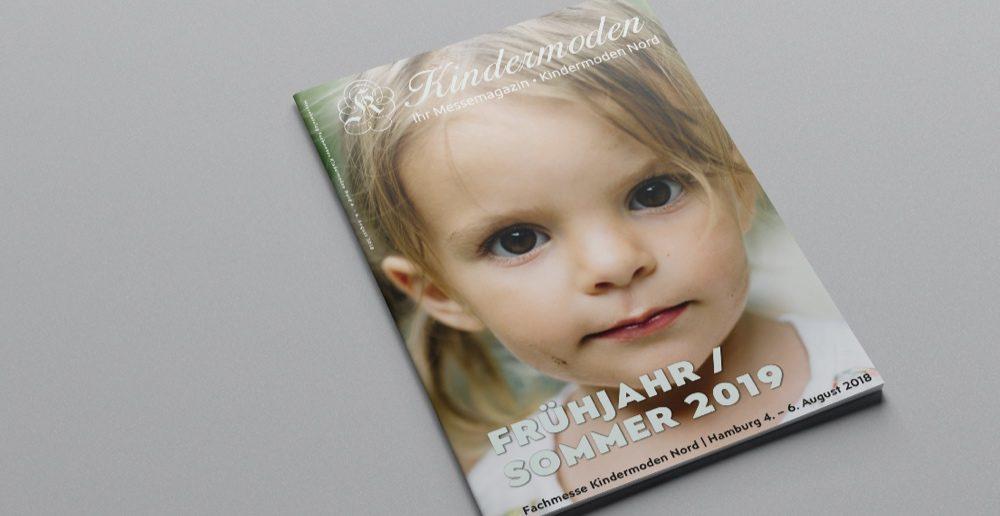 Katalog der Kindermoden Nord im August 2018