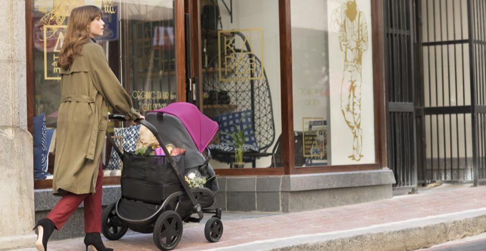 Mit dem neuen Quinny weiß man schon wohin: Einkaufen ist Dank des Shoppingbaskets sehr bequem.