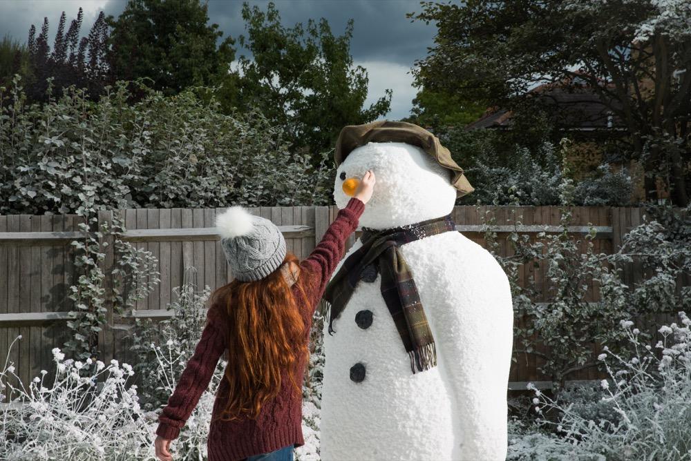 Barbour Weihnachtskampagne - The Snowman 1
