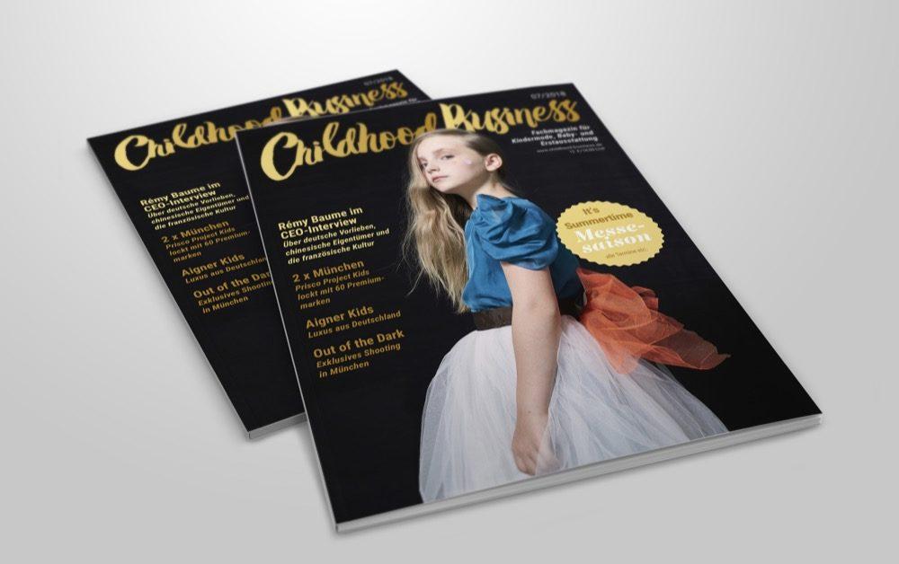 Cover der Ausgabe 07 2018 von Childhood Business