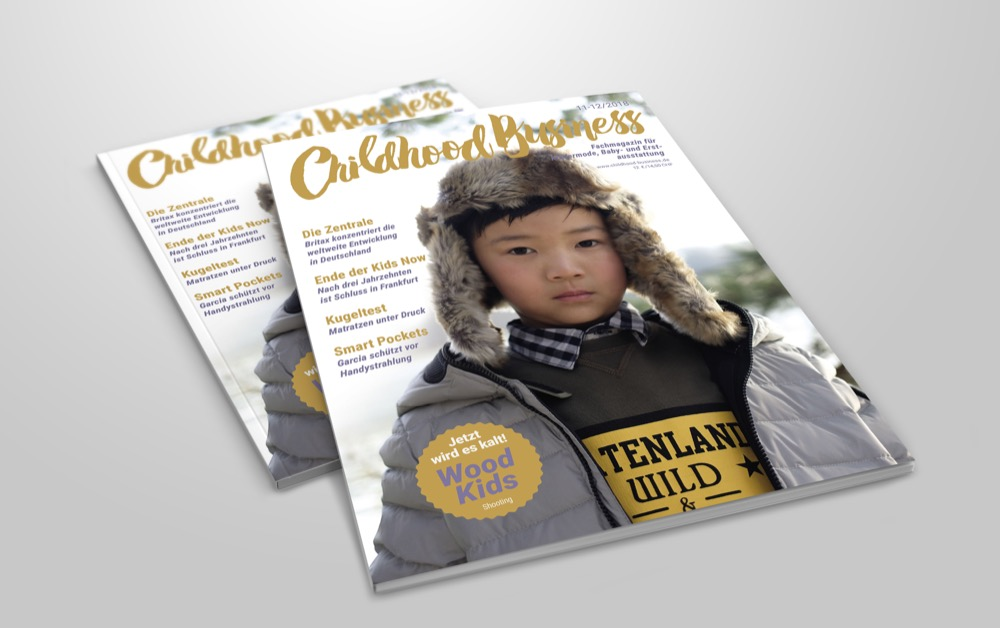 Cover der Ausgabe 11-12/2018 von Childhood Business