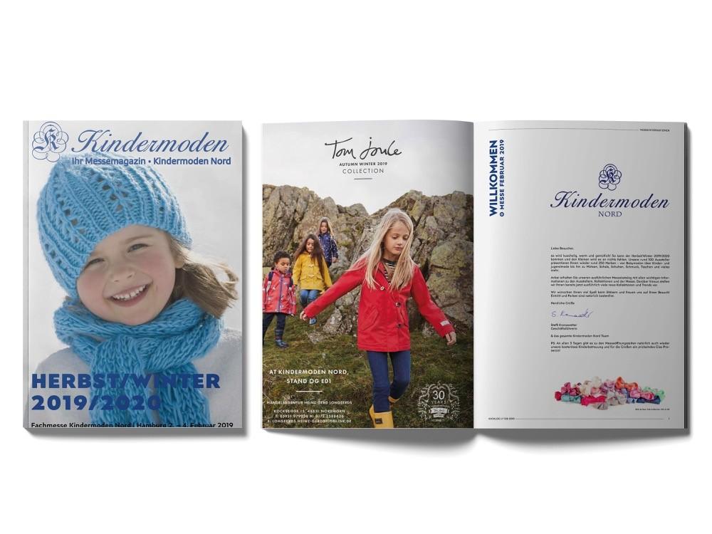 Zu den Katalogen der Kindermoden Nord
