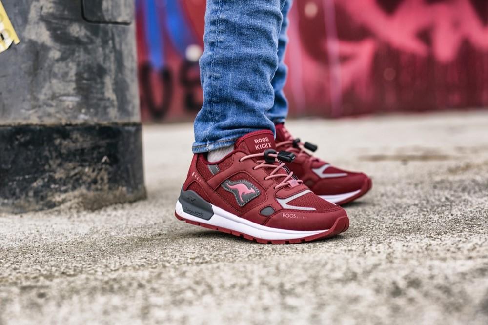 Volltreffer: Die Rooskickx können mit ihrem modernen Look locker mit den Sneakerriesen mithalten. Mit der Marke Kangaroos im Rücken kann man sich auch auf den gewohnten Komfort sowie die Qualität der Schuhe verlassen.