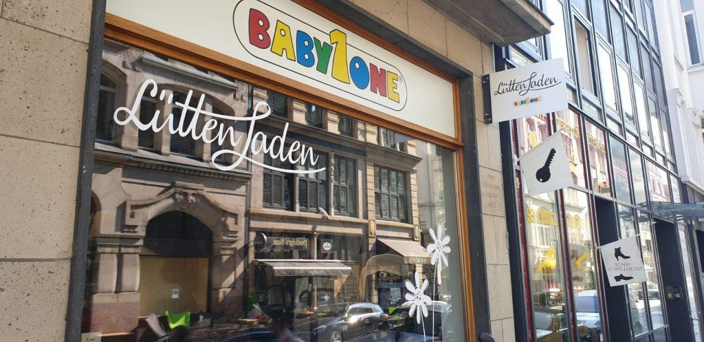 Aus Familienbande in Hamburg wird LuettenLaden, dem neuen Innenstadt-Shop-Konzept von Babyone.