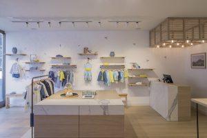 Der richtige Fokus: In dem neuen Il-Gufo-Store steht die Mode im Vordergrund, wird aber durch das Interieur erst richtig ins Szene gesetzt.