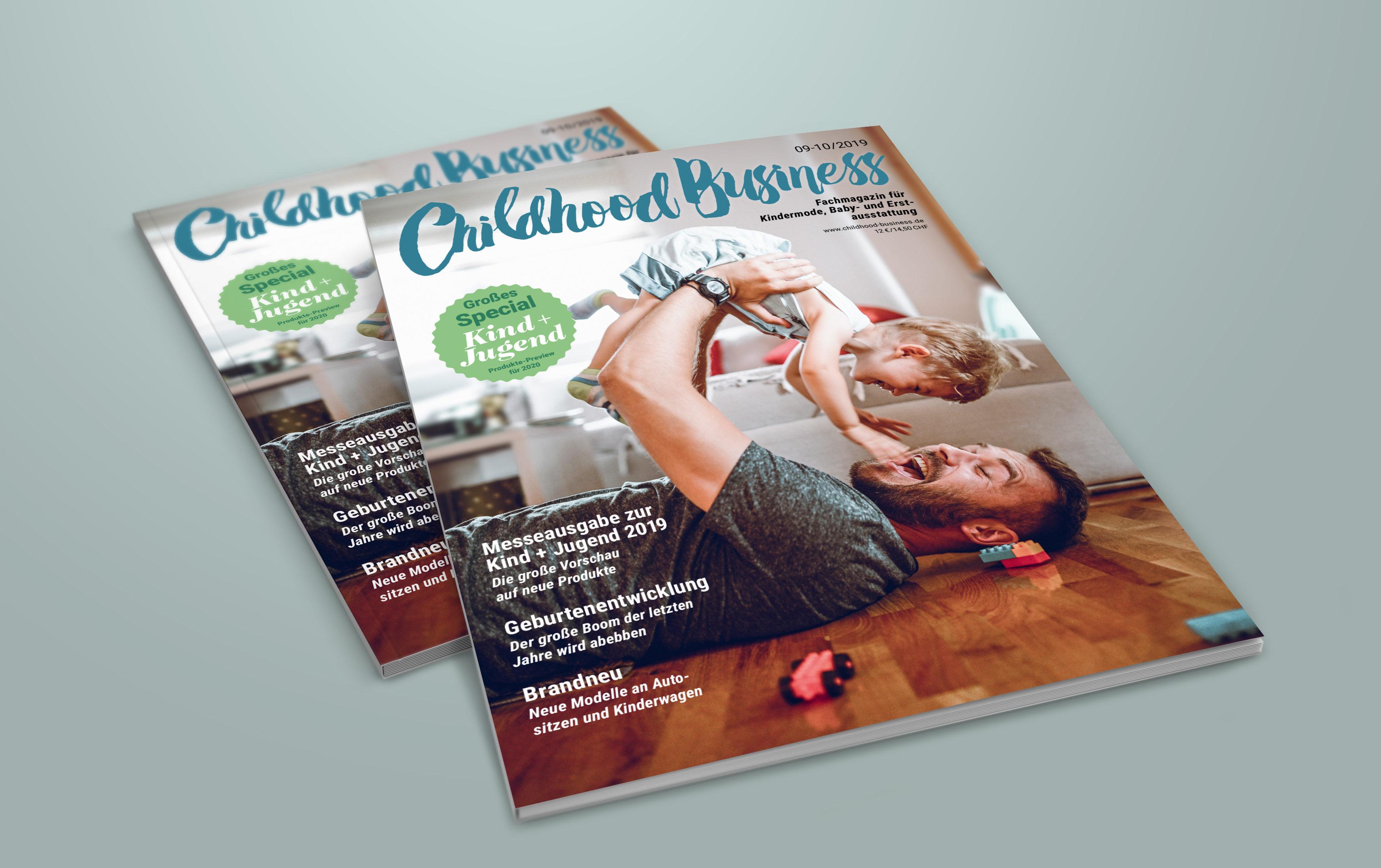 Cover der Ausgabe 09-10/2019 - Sonderausgabe zur Kind + Jugend 2019 - mit 148 Seiten