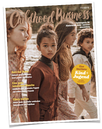 Cover der Ausgabe 11/2019 von Childhood Business