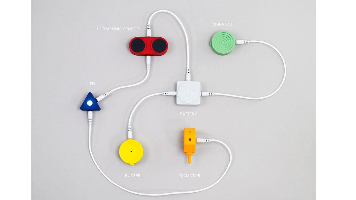 Nominiert für den Kids Design Award 2020: Bauwippchen von Katharina Em