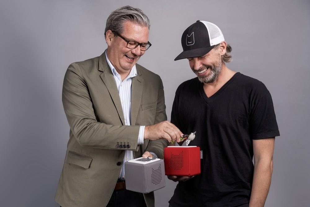 Die Gründer Patric Faßbender (re.) und Marcus Stahl (li.)