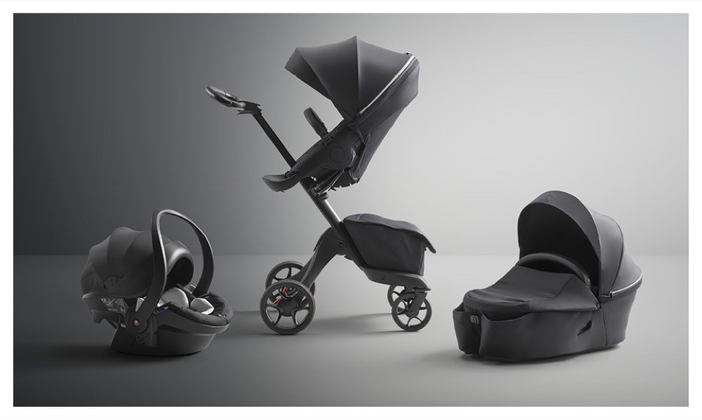 2021 03 Stokke – Xplory X – Stokke_XploryX_RichBlack_Seat_CarryCot