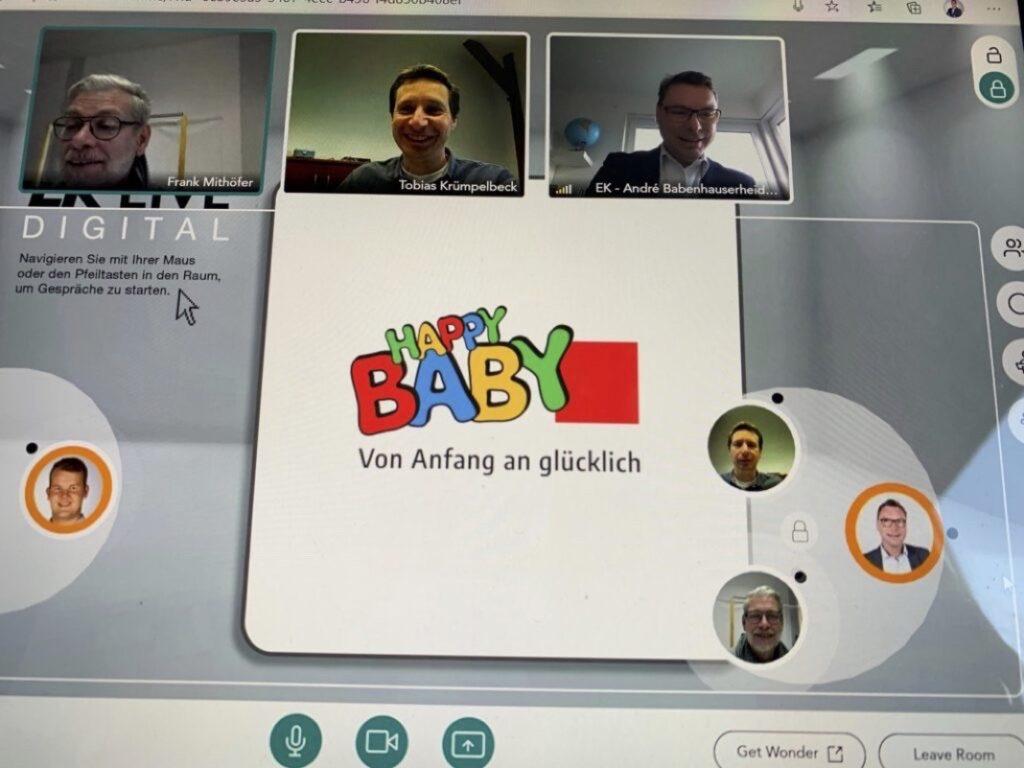Auch das Konzept HappyBaby ist auf der EK Fun vertreten