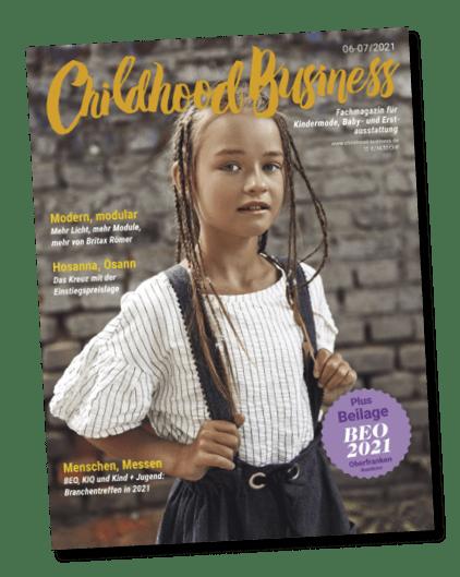 Cover der Ausgabe 06-07/2021 von Childhood Business