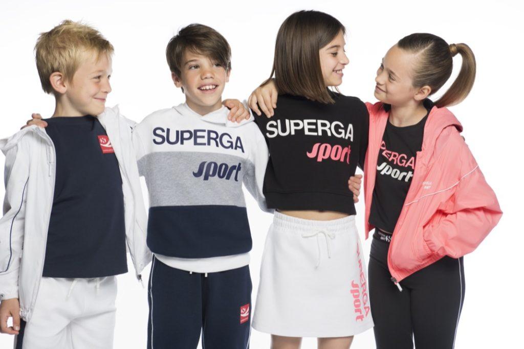 Superga wird seit Mitte 2021 von der Agentur Internationale Kindermoden vertreten.