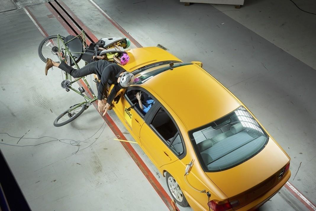 Systemvergleich Kindertransport mit dem Fahrrad